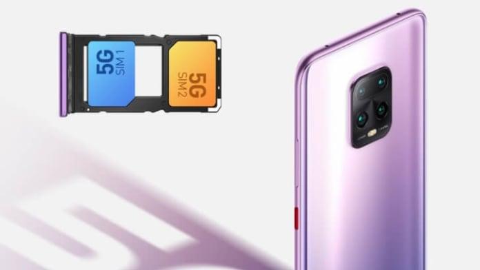 Redmi 10X telefon cu suport dual SIM 5G