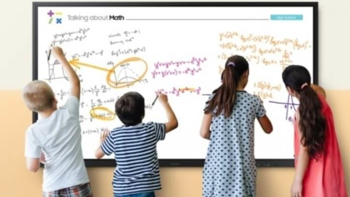 Samsung Flip - flipchart digital interactiv de 60 de inci