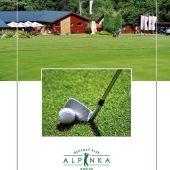 inzerát golf Alpinka Košice