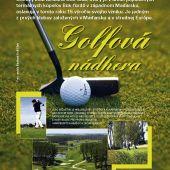 inzerát golfový klub Maďarsko