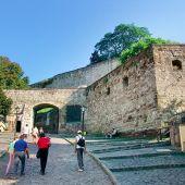 hrad Eger Maďarsko