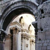 Diokleciánov palác Split Chorvátsko