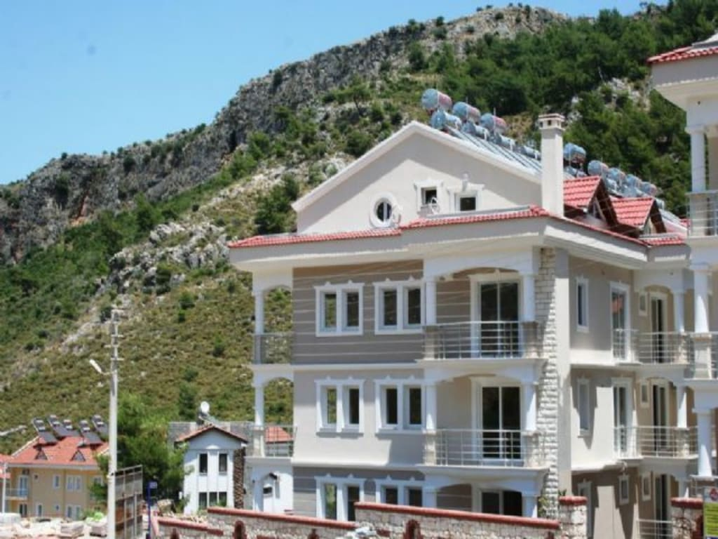 GREAT INVESTMENT COMPLEX IN FETHIYE-DELIKTAS – 3 bed duplex