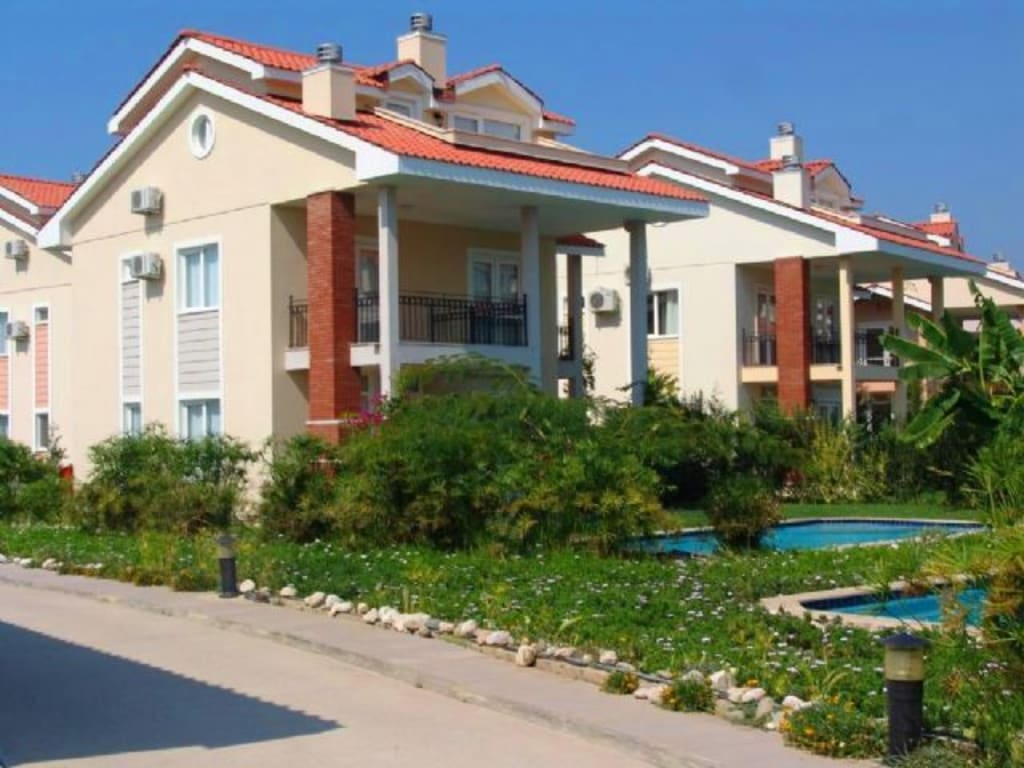 LUXURY APARTMENT AND VILLA COMPLEX IN FETHIYE-YANIKLAR – Villas