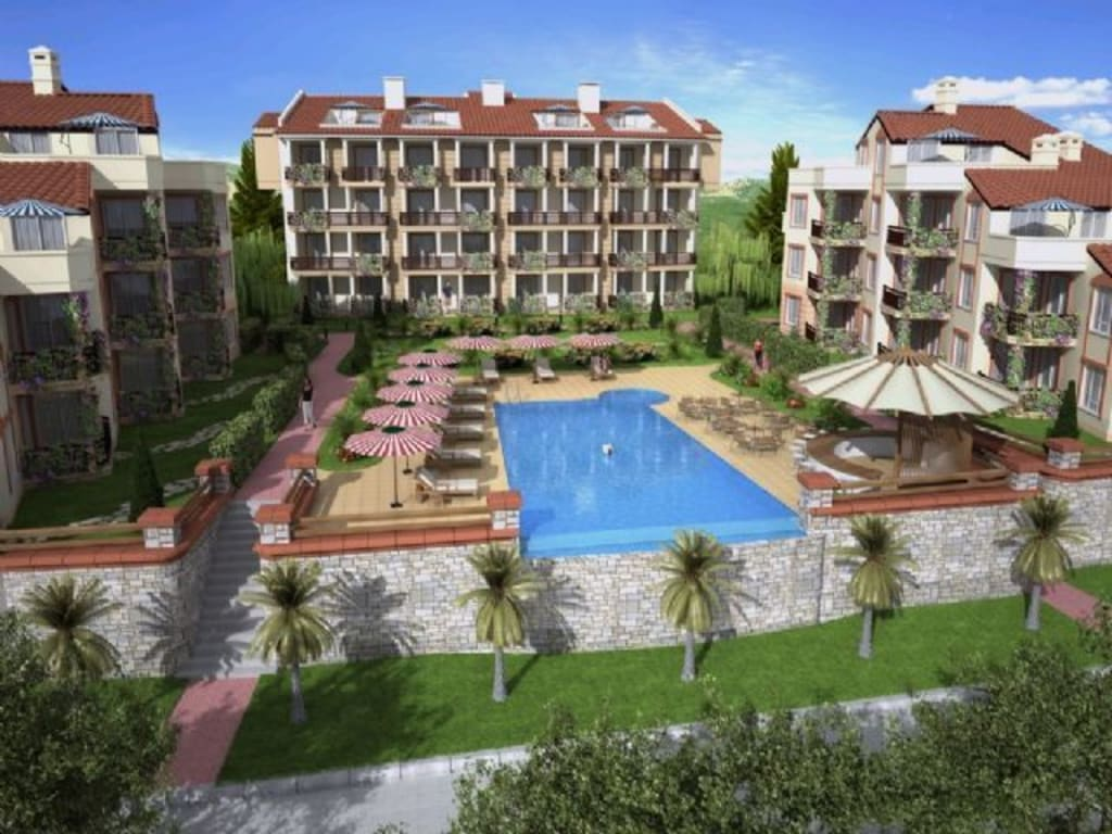 KUSADASI APARTMENT COMPLEX – 2 BED