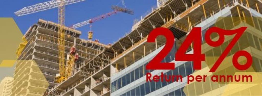 24% Return in 12 Months | Low £25,000 Entry Level | Exit Option Assured