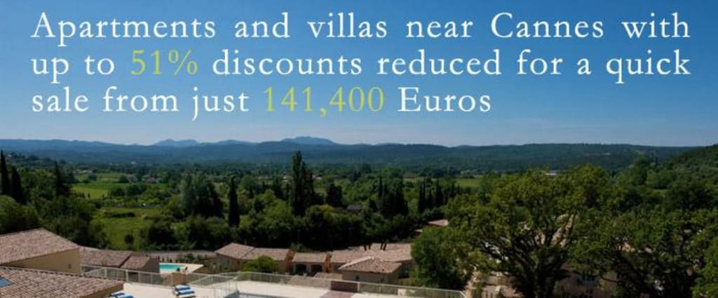Luxury Built Apartments Located in the South of France from: 141,400 Euro