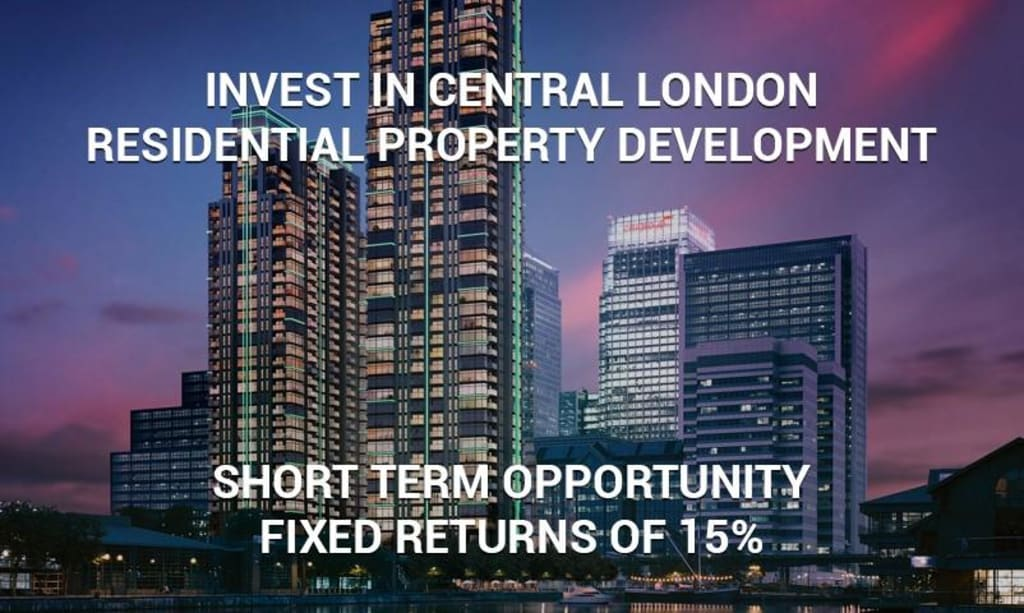 Canary Wharf Luxury Apartments in London offering 15% R.O.I. One Year Investment