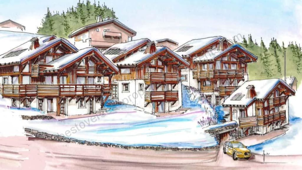 €1.48 million Choice of just 4 new chalets near Megeve