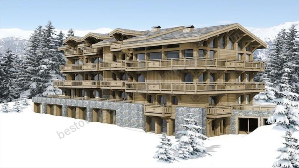 €1.64 million – €2.8 million. COURCHEVEL. Landmark apartment development.