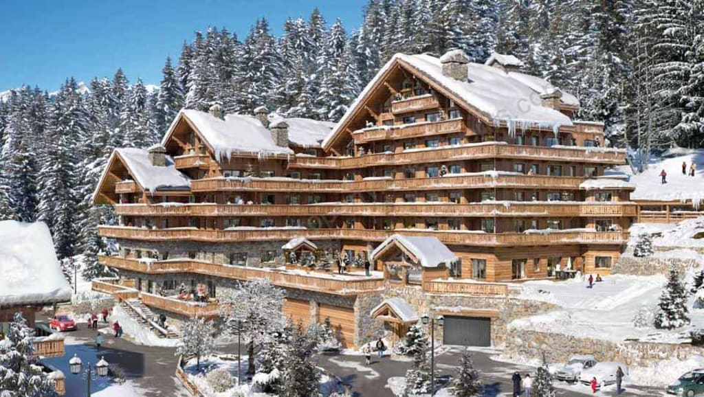 €1,775,000 – €5,300,000  MERIBEL. Luxury 2-5 bed apartments