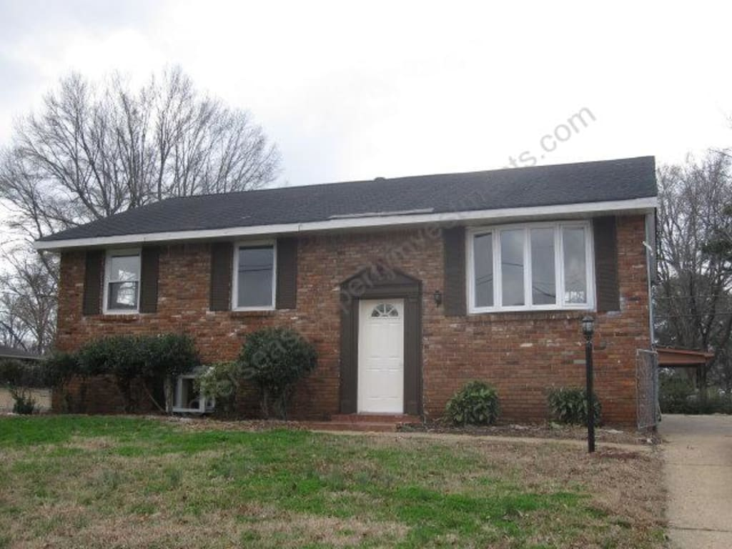 $51,000  Tenanted 4 bed Memphis home producing 12.8% net yield