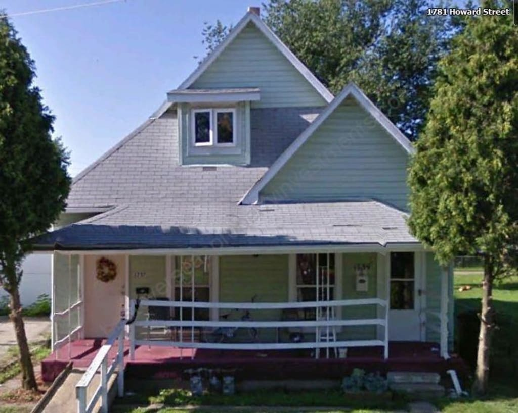$59,500 Tenanted  Idianapolis duplex producing 21.55% net yield