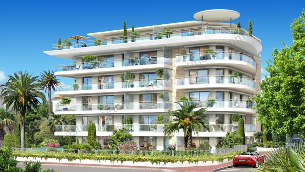 €750,000. CANNES. Sea View Apartments.