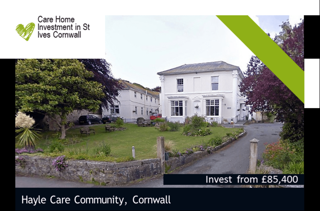 Built Care Home Investment in St Ives Cornwall