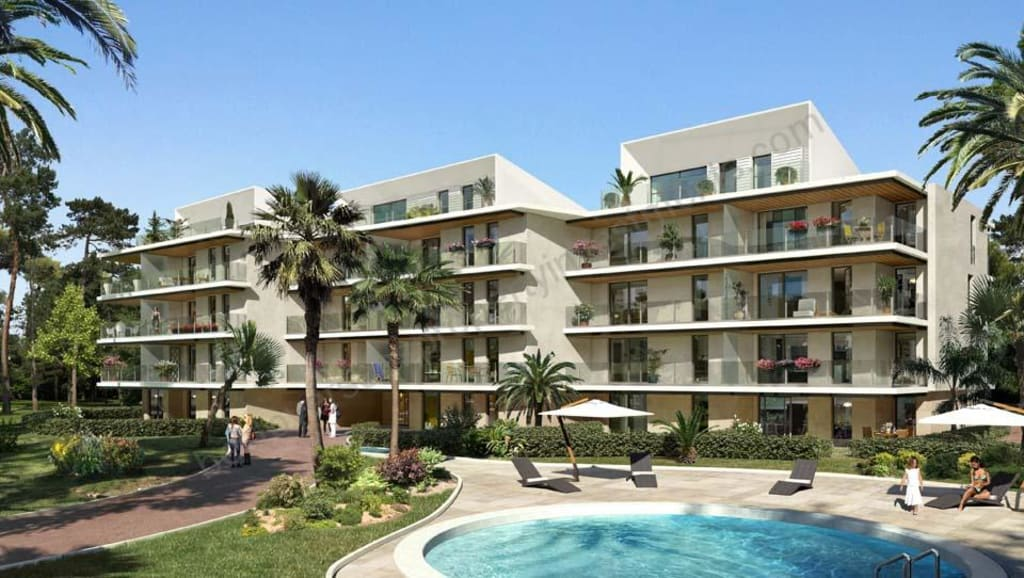 From €154,000 to €705,000.  CANNES – Oxford – Apartments – Phase 2