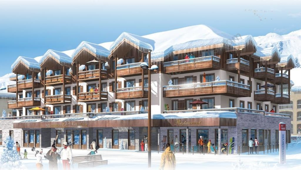 From €154,682 to €505,853.  Montgenevre 1850 – Center – Large Apartments