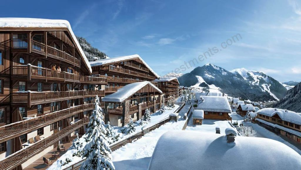 From €188,000 to €303,000.  The highest rental return in CHATEL – up to 4.86%