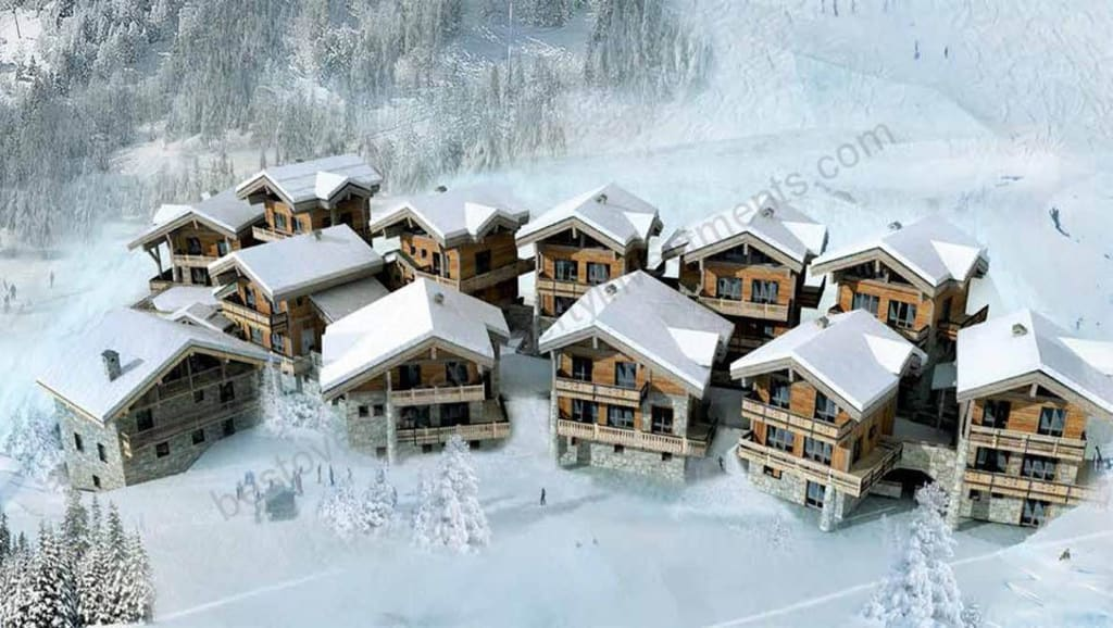 From €1.4 million. Sainte Foy – Les Hauts du Monal. Choice of new build chalets.