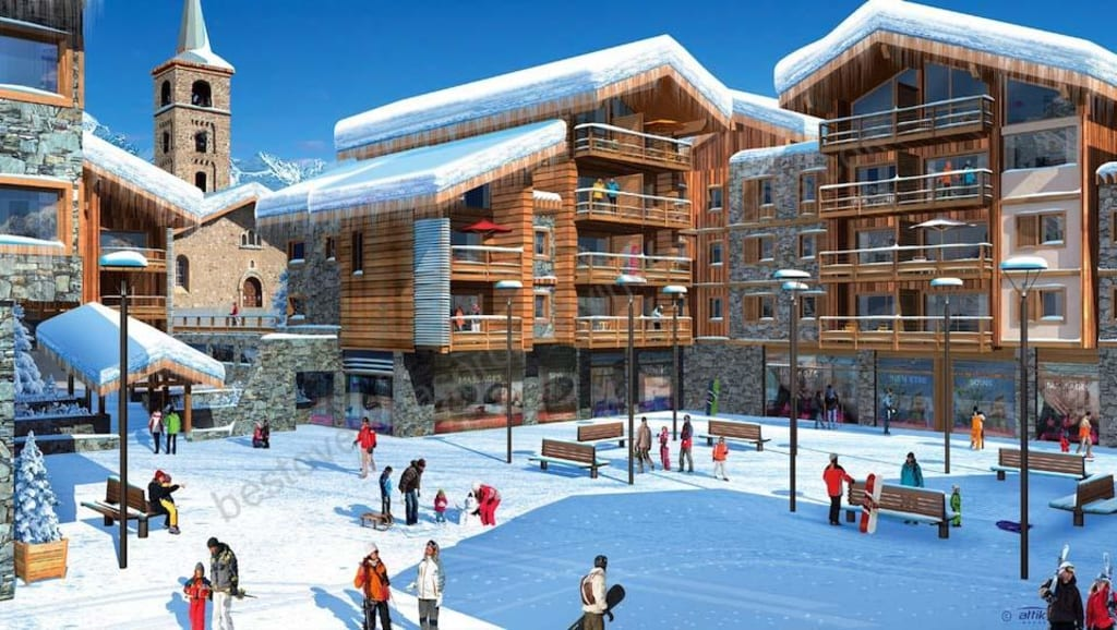 From €217,391 to €551,839. Tignes 1800 – Leaseback apartments on the slopes