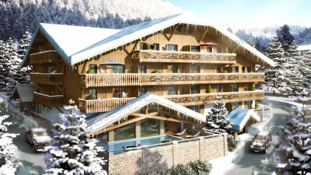 From €225,156 to €386,180. Châtel leaseback ski apartments with own usage