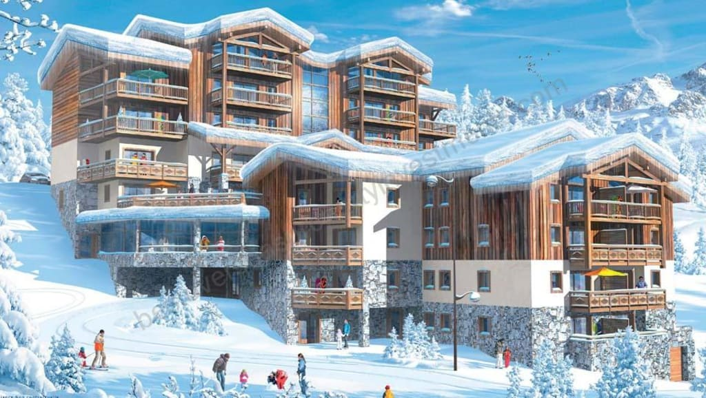 From €228,000 to €626,000.  La Rosière. Key ready  leaseback apartment investment opportunity