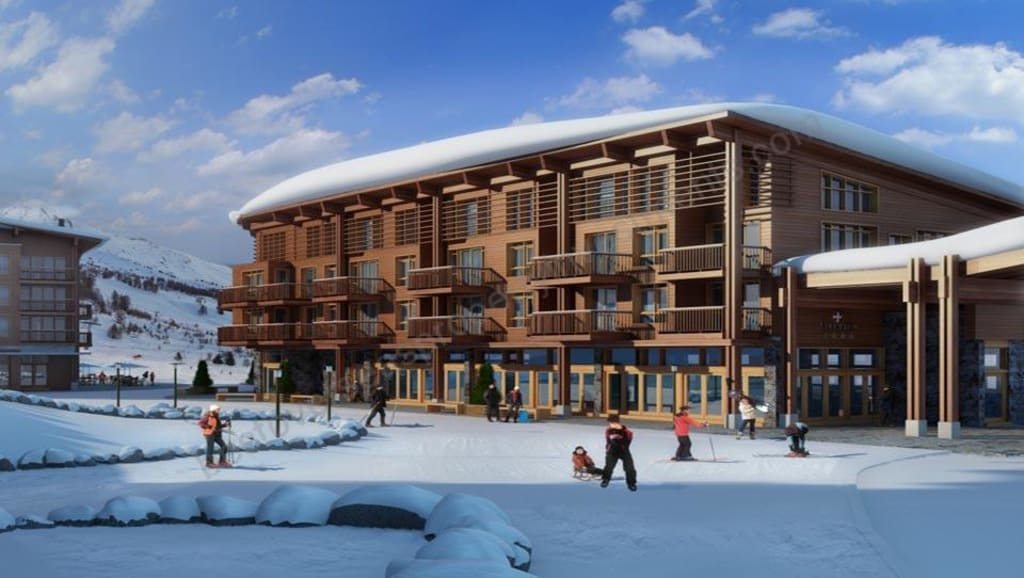 From €232,024.  LES ARCS. Excellent leaseback opportunity.