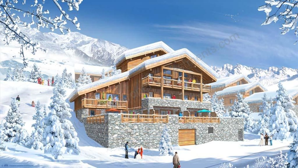 From €250,836 to € 413,880. La Rosiere. Luxury leaseback ski apartments