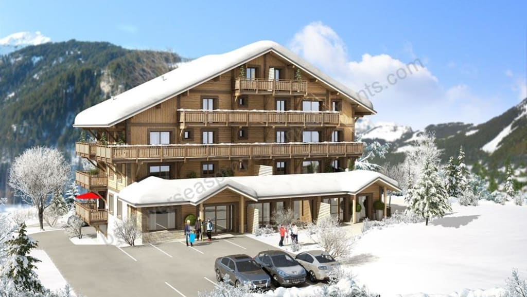 From €324,800 to €337,000.  Chatel – Résidence le Bellevue
