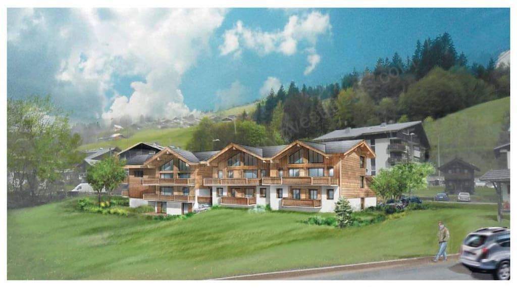 From €395,000 to €675,000.  Les Gets – Les Perrieres – Chalets