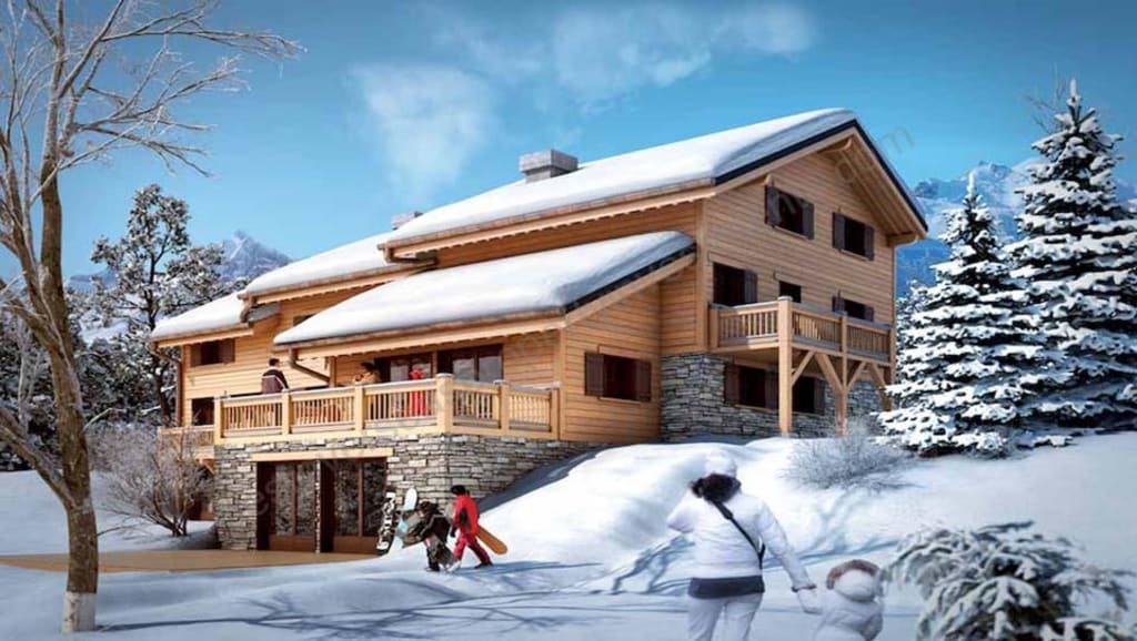 From €540,000 to €3.25m.  MERIBEL.  Luxury apartments and chalets.