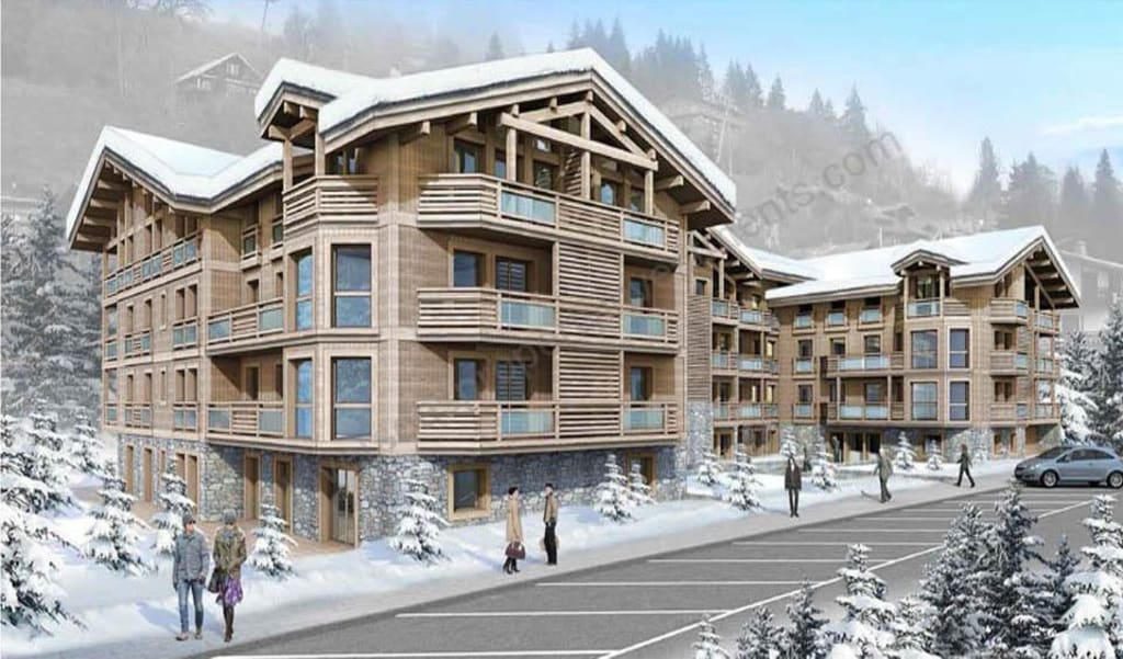 From €682,500  Les Gets – Center of the Village – Large apartments