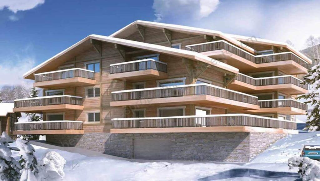 From €93,426 to €444,680.  Chatel – Les 4 Eléments. Great value ski apartments.
