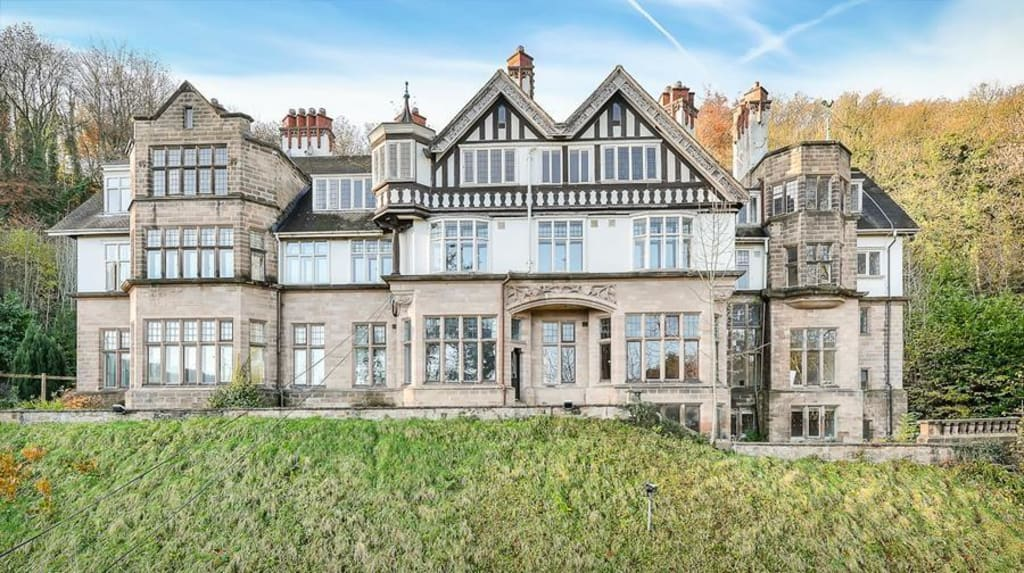 Grade 2 listed mansion Matlock Bath