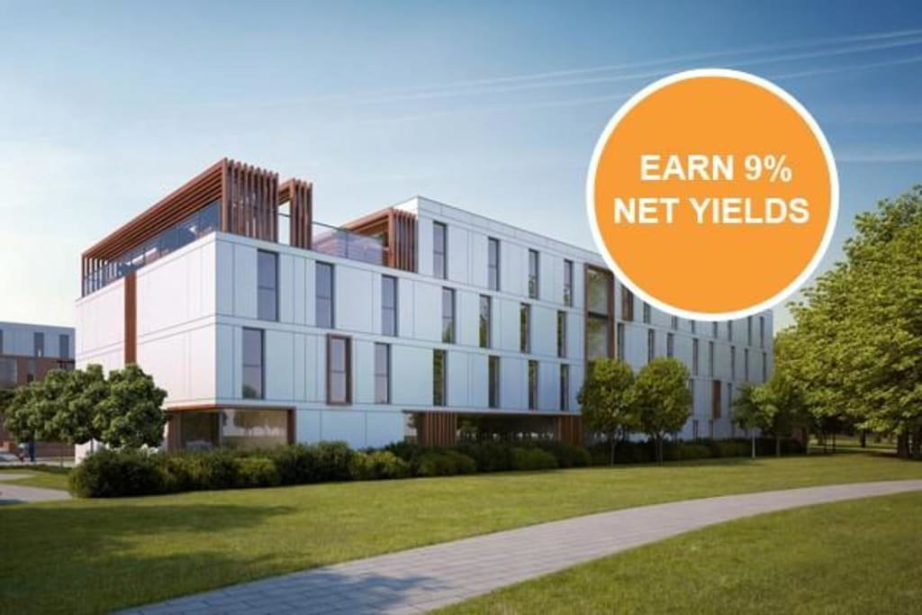 High-spec student studios – 9% NET for 5 years Location Newcastle-Under-Lyme
