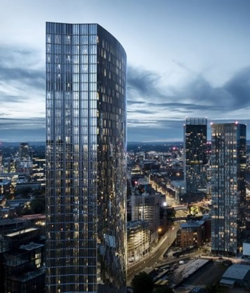 Residential Apartments in Breathtaking Manchester Skyscraper