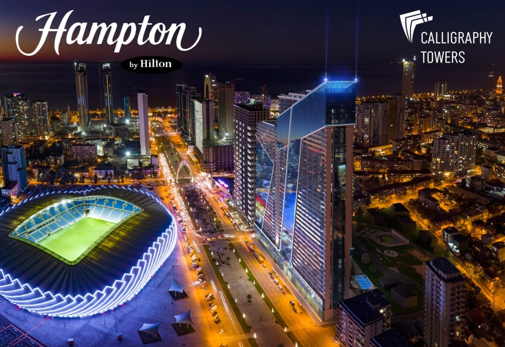 Hampton by Hilton – From Just £17,000 FULLY FURNISHED – Booming Batumi