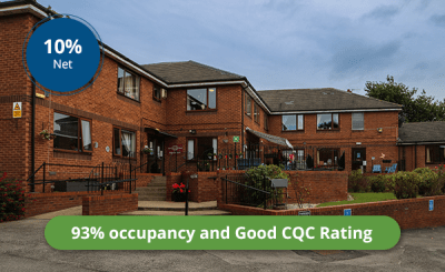 Fully Operational Care Home - Immediate Income