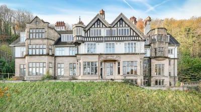 Grade 2 listed mansion Matlock Bath