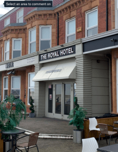 The Royal Hotel located in Whitley Bay, United Kingdom.