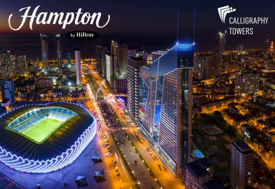 Hampton by Hilton - From Just £17,000 FULLY FURNISHED - Booming Batumi