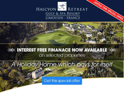 Interest Free Finance Available Luxury Golf & Spa Resort in France
