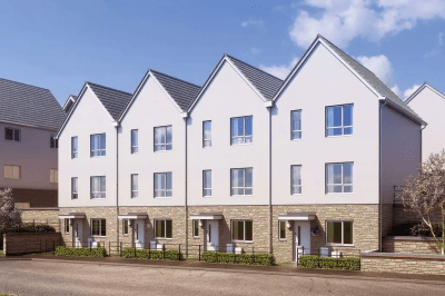 BUILT TOWNHOUSES OFFERING 75% LOAN to VALUE
