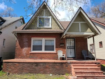 Four Bedroom Detached Property Detroit USA 50,000 USD