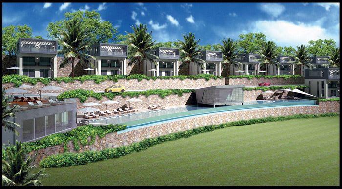 STUNNING GUNDOGAN RESORT – 4 bed duplex villa