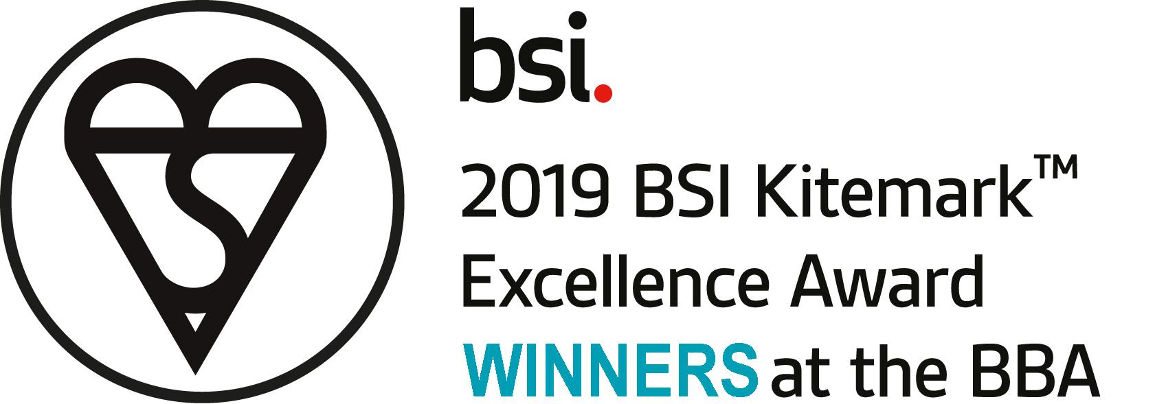 the bsi excellence award winner image