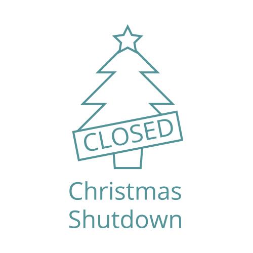 icon of christmas shutdown