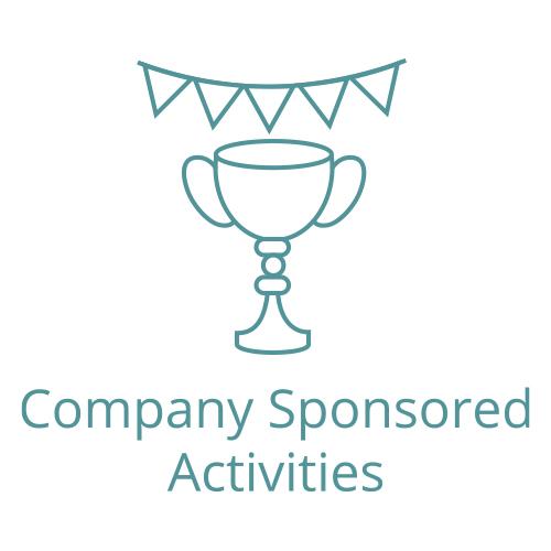 icon of sponsored activies