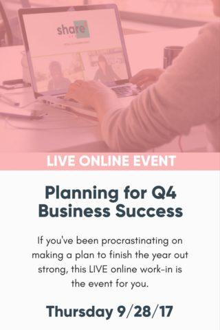 q4 planning rakxrx - Jackie Bernardi Home Page