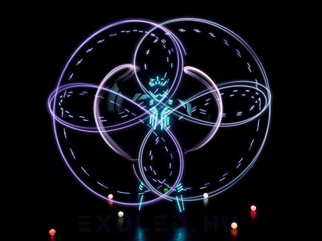 A LED zsonglőr show a legmodernebb zsonglőr előadás